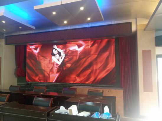 广东清远人民法院液晶拼接屏案例描述