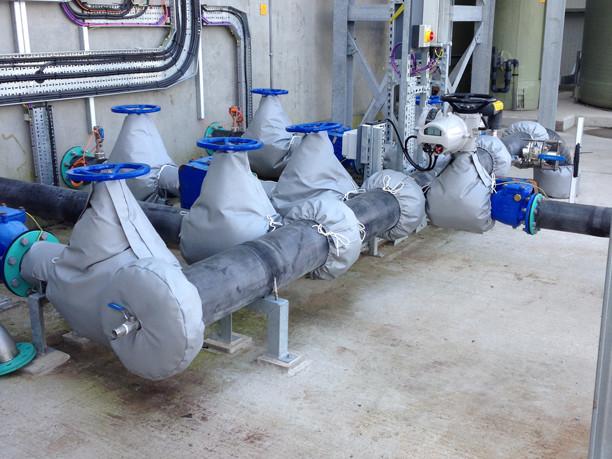 工廠中哪些設備可以選擇可拆卸式保溫套?