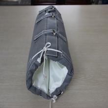 冶煉行業中可拆卸式保溫套的賣點