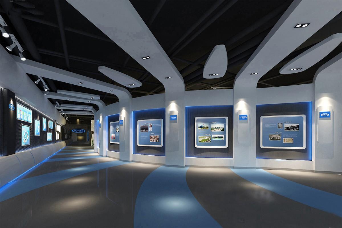 广东企业展厅设计为什么受人们的欢迎?