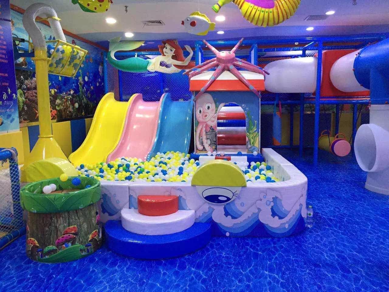 在游乐园中安放什么样的儿童游乐设备能够引起孩子的兴趣