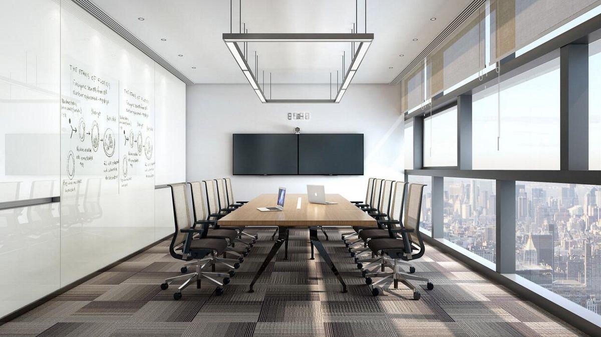 智慧办公的出现如何与工作环境融合在一起的?